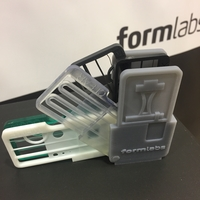 Small Resins Samples Holder Mini Printer Formlabs Form 2 3D Printing 155425
