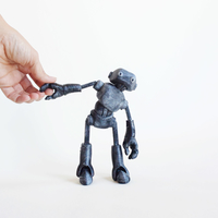 Small Ankly Robot - 3d Printed Assembled 3D Printing 155450