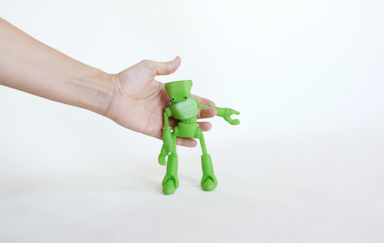 Ankly Robot - 3d Printed Assembled 3D Print 155452
