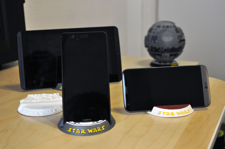 Star Wars Mobile/Tablet stand 3D Print 155473