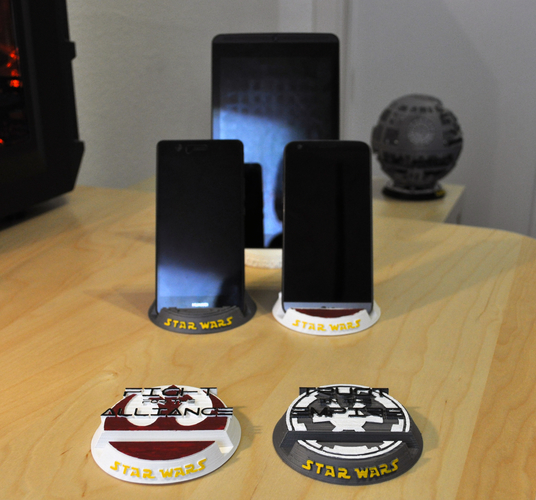 Star Wars Mobile/Tablet stand 3D Print 155476