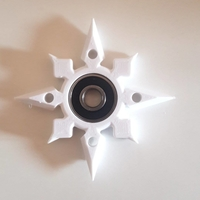 Small bettle star fitget spinner 3D Printing 155567