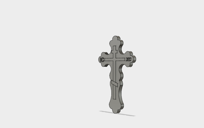 slavic cross 3D Print 155593