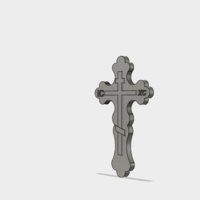 Small slavic cross 3D Printing 155593
