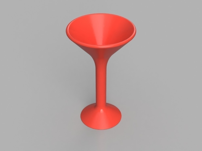 Martini Glass 3D Print 155627