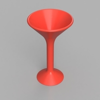Small Martini Glass 3D Printing 155627