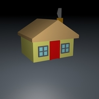 Small House 3D Model 3D Printing 155639