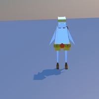 Small Character 3D Model 3D Printing 155646