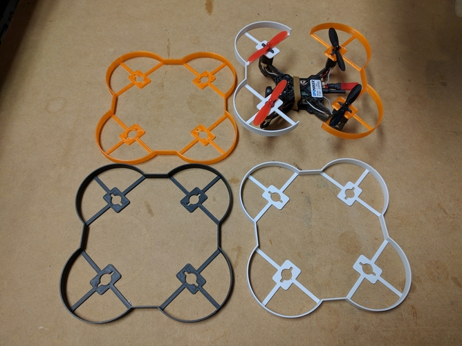 SPCMaker 90x quadcopter prop guards 3D Print 155668