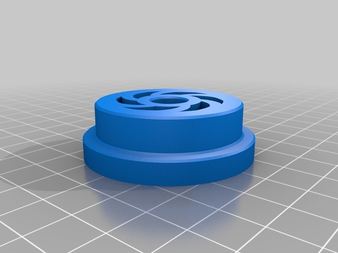 Zheng3 Tinkeriffic 40mm Spool Spindle 3D Print 15569