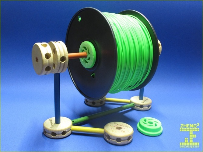 Zheng3 Tinkeriffic 40mm Spool Spindle 3D Print 15570