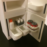 Small Miniature Milk & Egg &  Can 3D Printing 155706