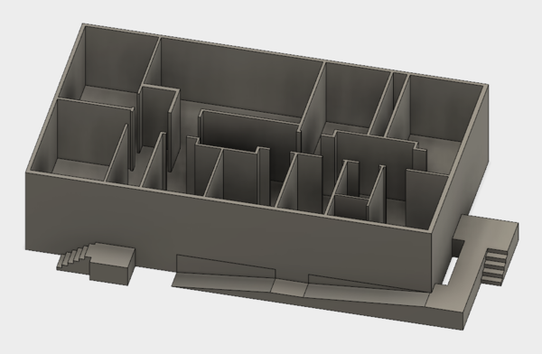 Medium Building Layout 3D Printing 155755
