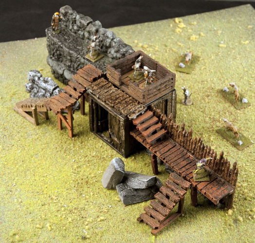 Crypt Entrance for Stronghold on the Boarderlands *OpenLOCK* 3D Print 155763