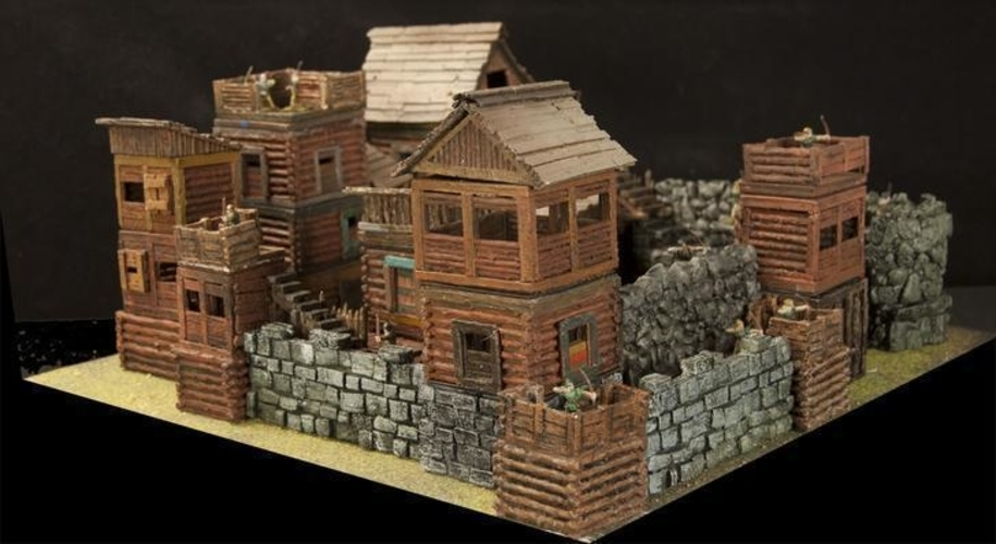Crypt Entrance for Stronghold on the Boarderlands *OpenLOCK* 3D Print 155765