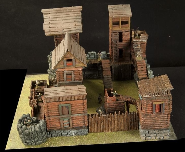 Crypt Entrance for Stronghold on the Boarderlands *OpenLOCK* 3D Print 155766