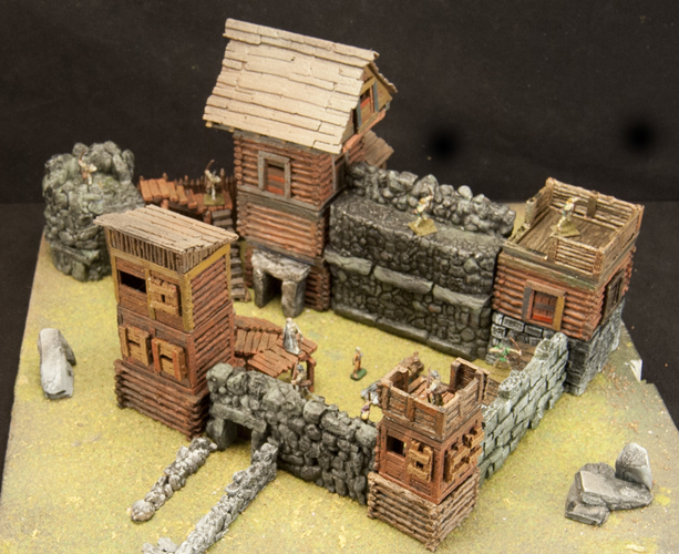 Crypt Entrance for Stronghold on the Boarderlands *OpenLOCK* 3D Print 155768