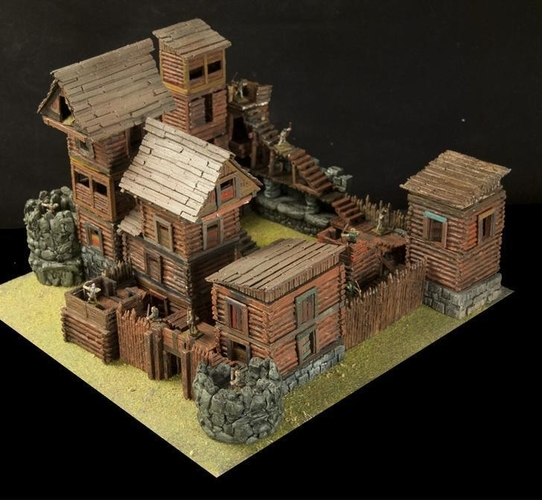 Crypt Entrance for Stronghold on the Boarderlands *OpenLOCK* 3D Print 155773