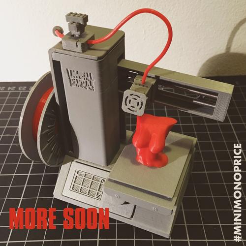 3D Printed Mini Monoprice Mini