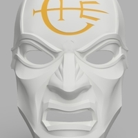Small Dishonored Overseer Mask 3D Printing 155862