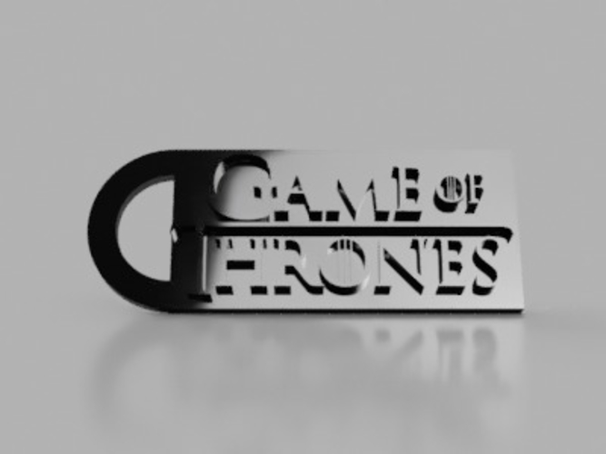 Game Of Thrones Keychain 3D Print 155866