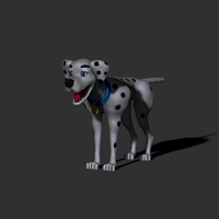Small 101 Dalmation Peggy Disney 3D Printing 155869
