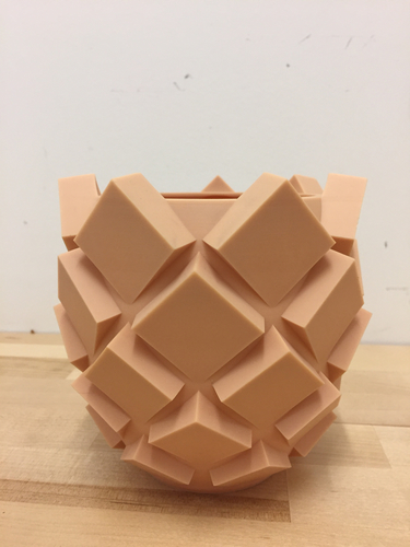 Pinecone/Pineapple Inspired Flower Pots 3D Print 155893