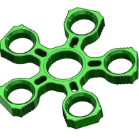 Small Fidget Quintuple Spinner / 625 Bearing Holder 3D Printing 155958