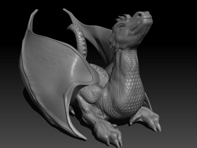 The Dragon 3D Print 155994