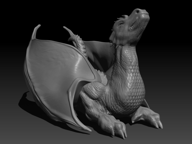 The Dragon 3D Print 155995
