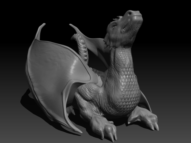 The Dragon 3D Print 155996
