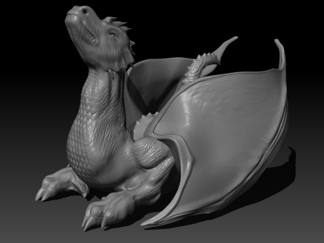 The Dragon 3D Print 155997