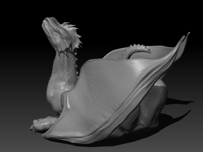 The Dragon 3D Print 155998
