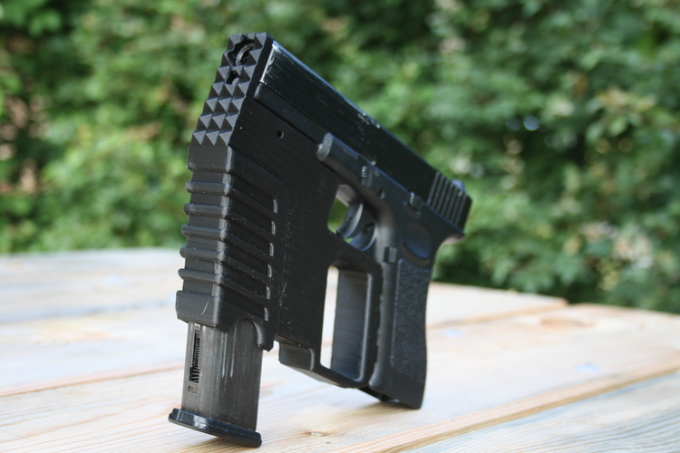 Glock kit with hammer 3D Print 156050