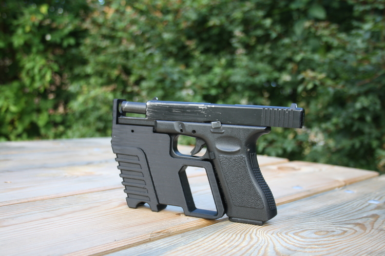 Glock kit with hammer 3D Print 156051