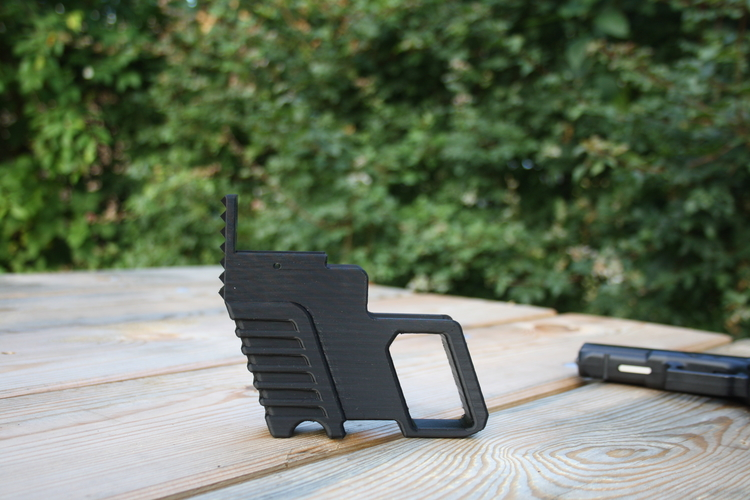 Glock kit with hammer 3D Print 156053