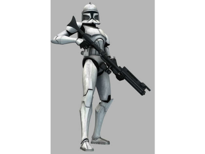 Clone Wars - Armor Phase 1 3D Print 156134