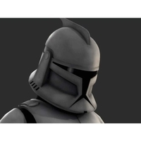 Small Clone Wars - Helmet Phase 1 3D Printing 156143