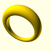 Small Simple Ring 3D Printing 156181