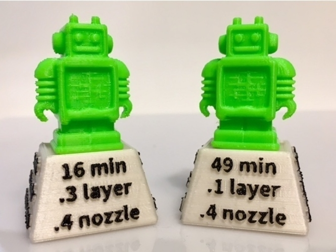 Famous 3D Printed Speed Racer Testbots by mathgrrl | Pinshape WU31
