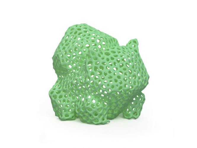 Voronoi Pokemon - First Generation 3D Print 156235