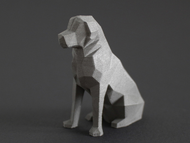 Low Poly Dog - Beto 3D Print 156239