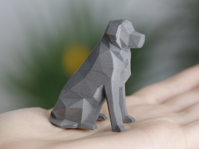 Low Poly Dog - Beto 3D Print 156240