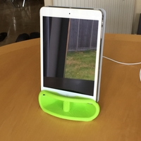 Small iPad Mini Speaker dock 3D Printing 156244