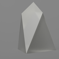 Small EOS geometric figure without logo 3D Printing 156255