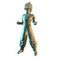Small Dragon Ball Z: ​Super Saiyan Son Goku 3D Printing 156292