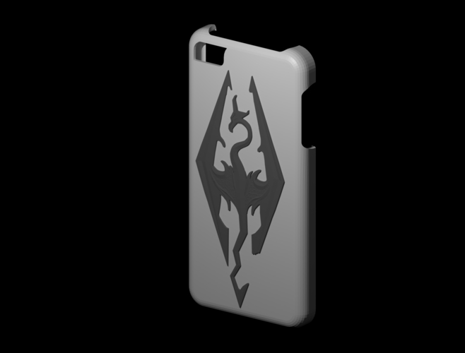 iphone 5s Skyrim case 3D Print 156314