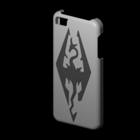 Small iphone 5s Skyrim case 3D Printing 156314
