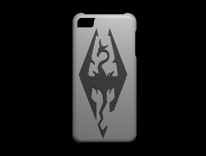 iphone 5s Skyrim case 3D Print 156316