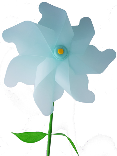 Flower Windmill 3D Print 156386